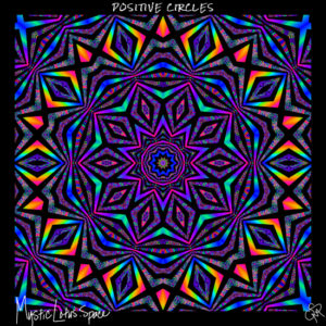 positive vibes artwork by mysticlotus.space