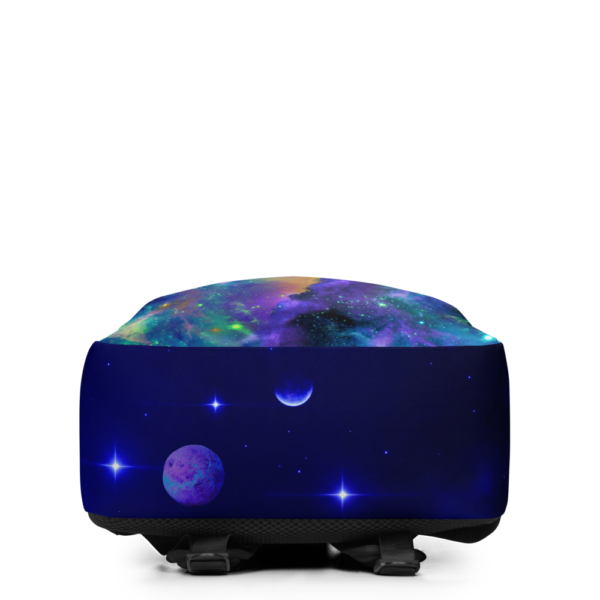 outer space nebulae backpack bottom