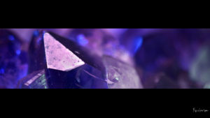 closeup image of a purple amethyst crystal desktop wallpaper in 1080