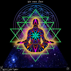 we are one ascension artwork by mysticlotus.space