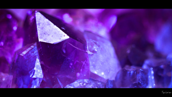 purple close up of amethyst desktop wallpaper in 1080