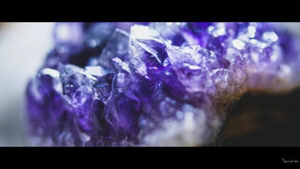 desktop wallpaper Amethyst crystal 1080p