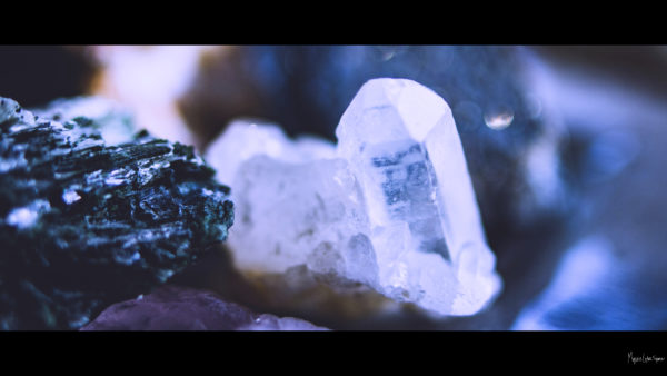 close up of crystals and minerals desktop wallpaper in 1080