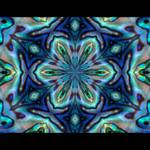 colorful kaleidoscope abalone shell desktop wallpaper in 1080