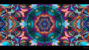 Bohemian Dreams 1080p desktop Wallpaper bright colors kaleidoscope