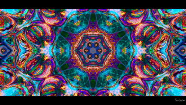 Bohemian Dreams 1080p desktop Wallpaper bright colors kaleidoscope