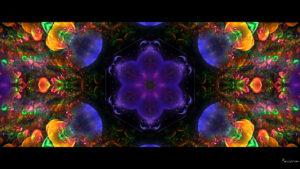colorful kaleidoscope bohemian festive desktop wallpaper in 1080